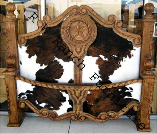 Home Decor Austin: The Cowhide Texas Bed I Spied In Canton, Texas Trade Days