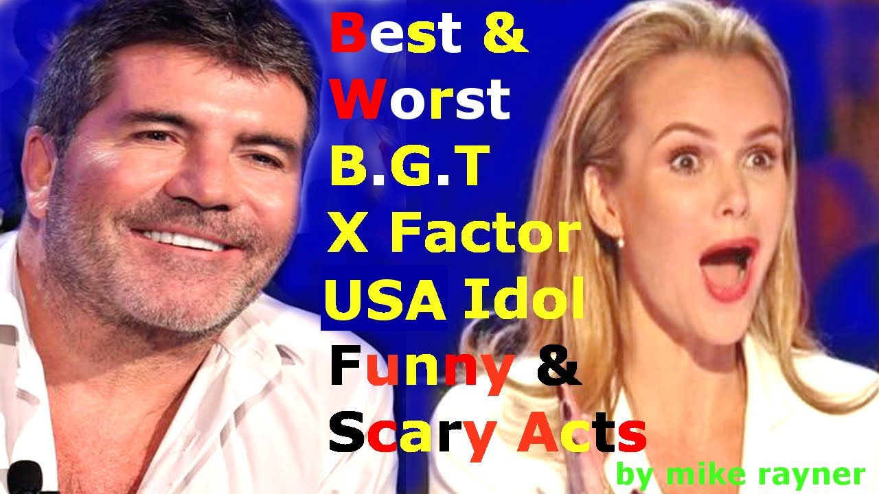 Top 10 Got Talent & X Factor, Best Funny & Worst Auditions