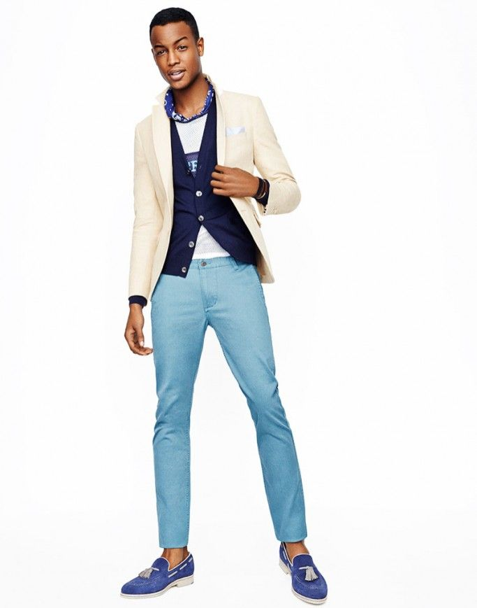 FAB Editorial: Summer Fashion For Men! South African Model, Conrad Bromfield For GQ