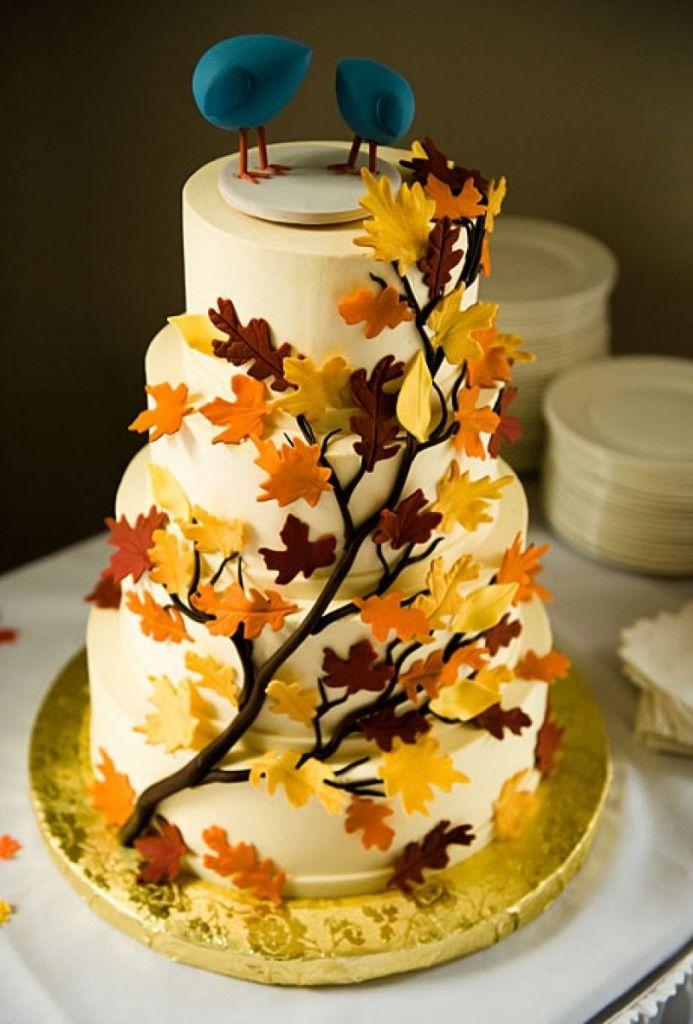 fall wedding cake inspiration | Cake | Pinterest | Wedding cake ...