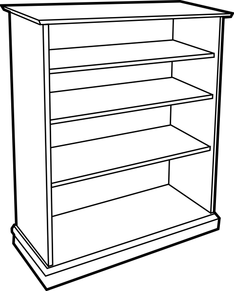 Empty Cupboard Clipart Black And White Google Search
