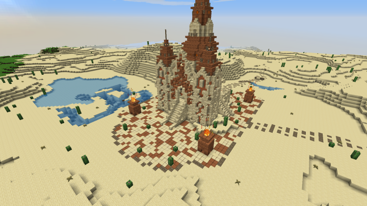 Pin by Jotu on Minecraft statues Desert temple