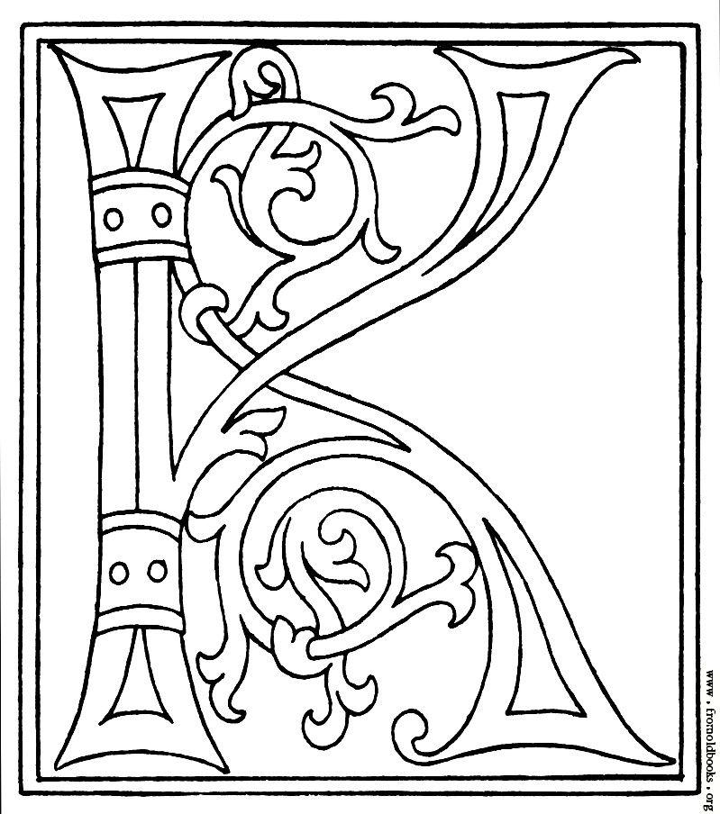 the letter k Letter k, Lettering alphabet, Fancy letters