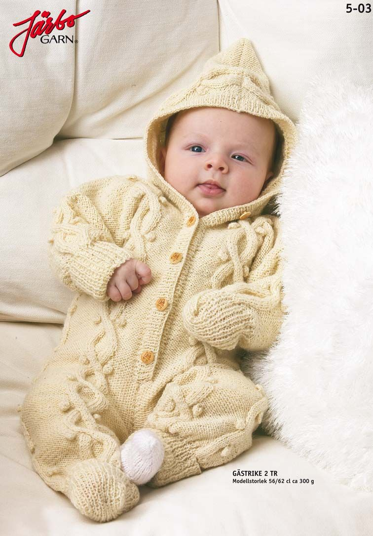 Wonderful baby overall. | Knitting - Babies & Boys | Pinterest ...