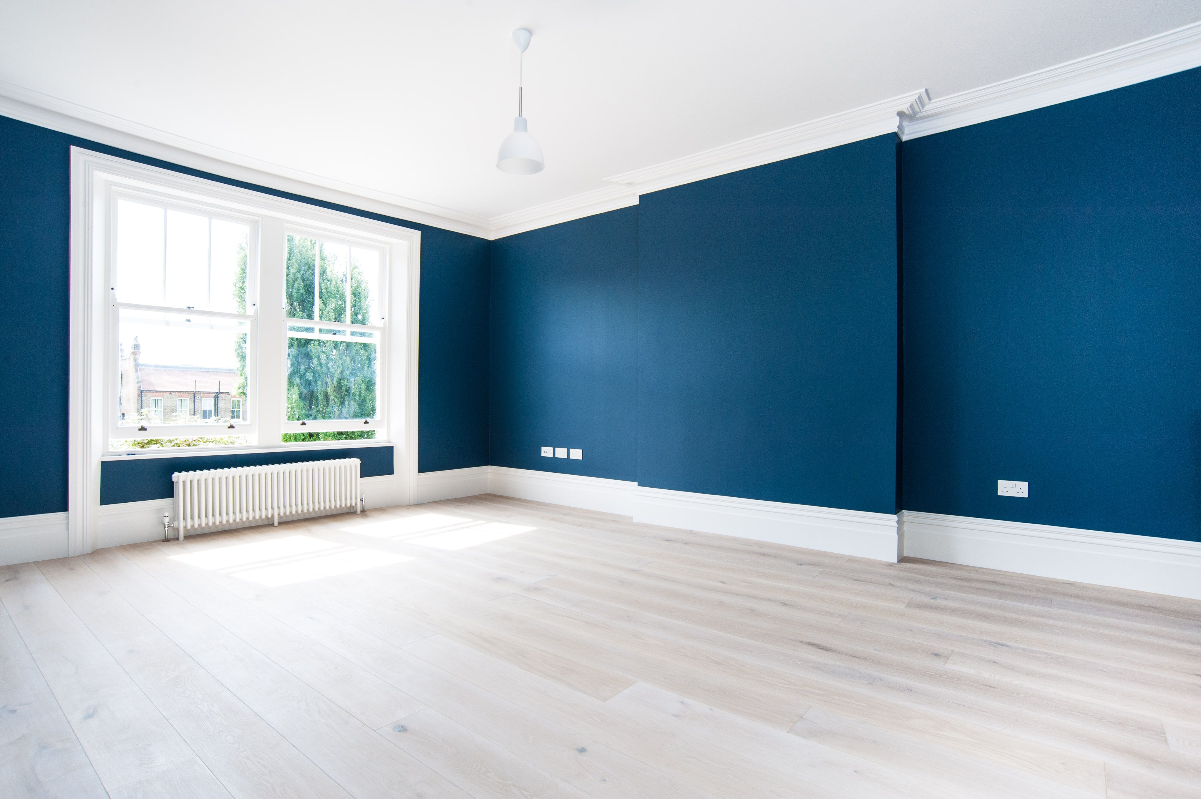 Paint Color Ideas That Make the Room Look Much Bigger | Ocean, Big ...