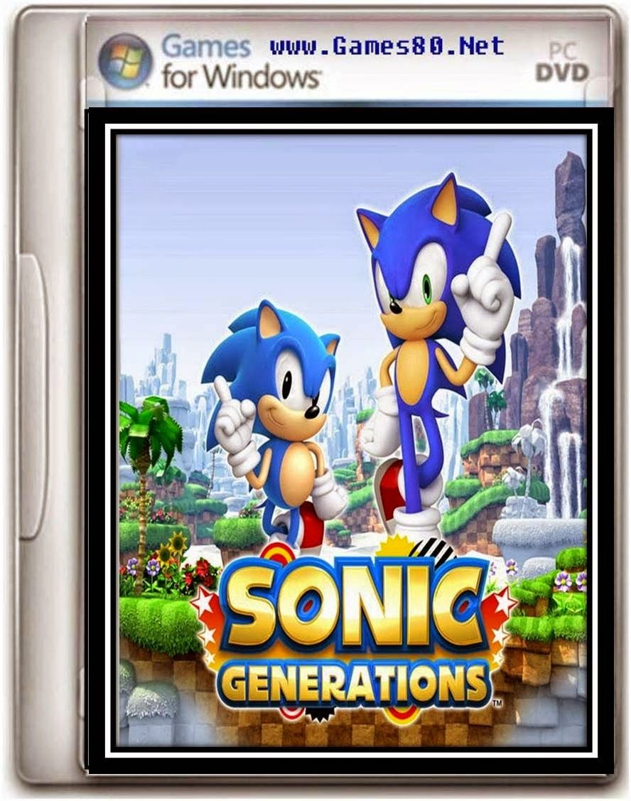 Sonic Generations Game Generation game, Sonic