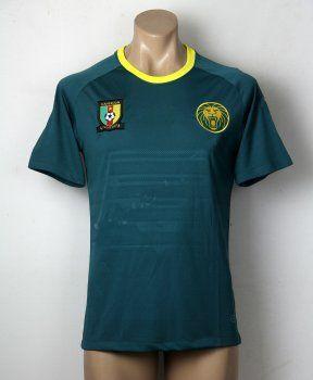 4e396dbe2c4 Cameroon Soccer Team 2016 Home Replica Jersey  F589