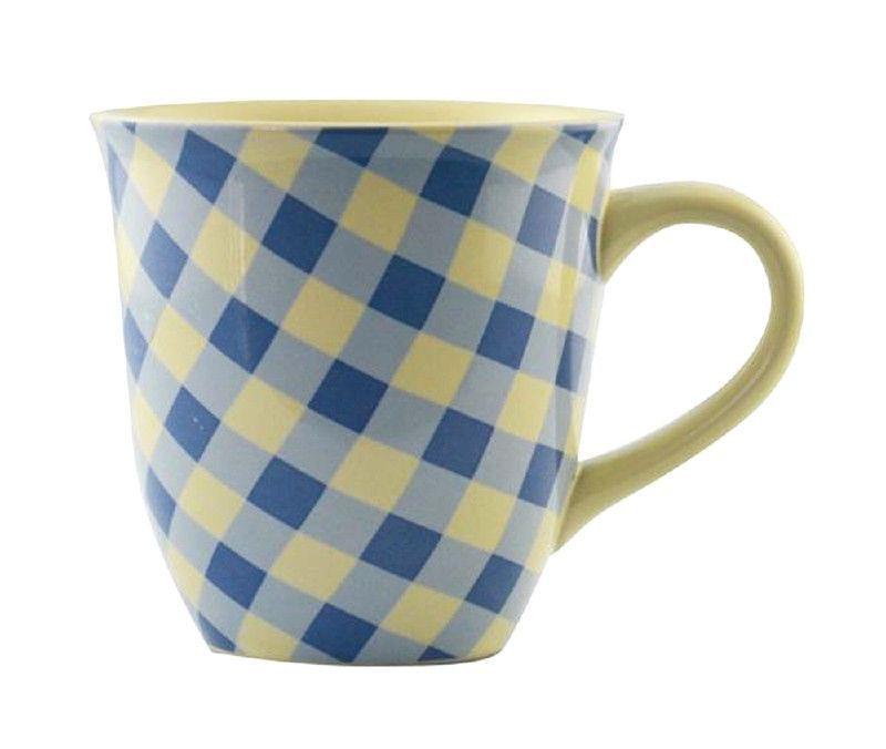 Knac3 161405 Blue Ceramic Mugs Set of 2 Each Mug is 12 Ounces