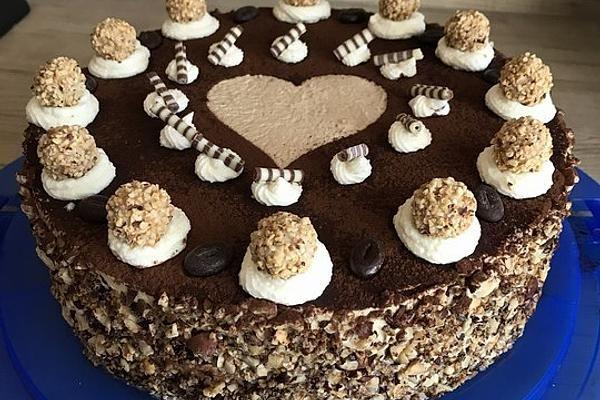 Cappuccino-Nuss Torte von magicnanny00 | Chefkoch #cupcakesrezepte