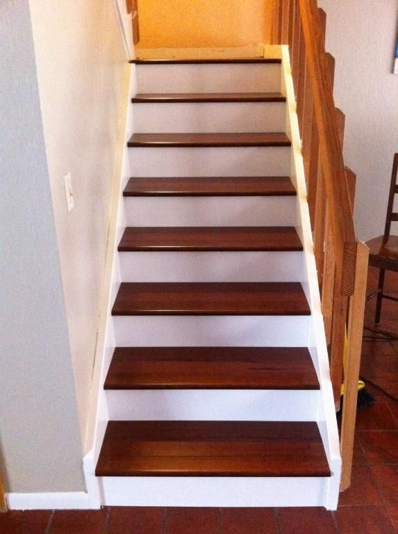 More Bamboo Flooring On A Stairway For The Home