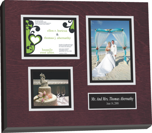 Preserve Wedding Invitation Plaque Invitations