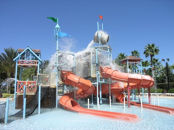 Another beautiful day at the Reunion Resort Water Park