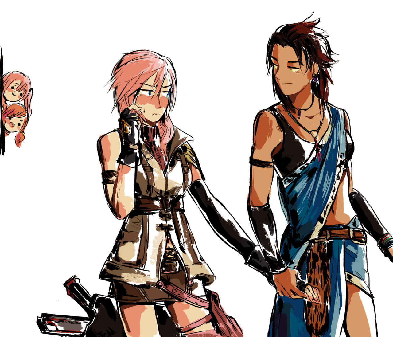 Art And Stuff That Inspires Final Fantasy Characters