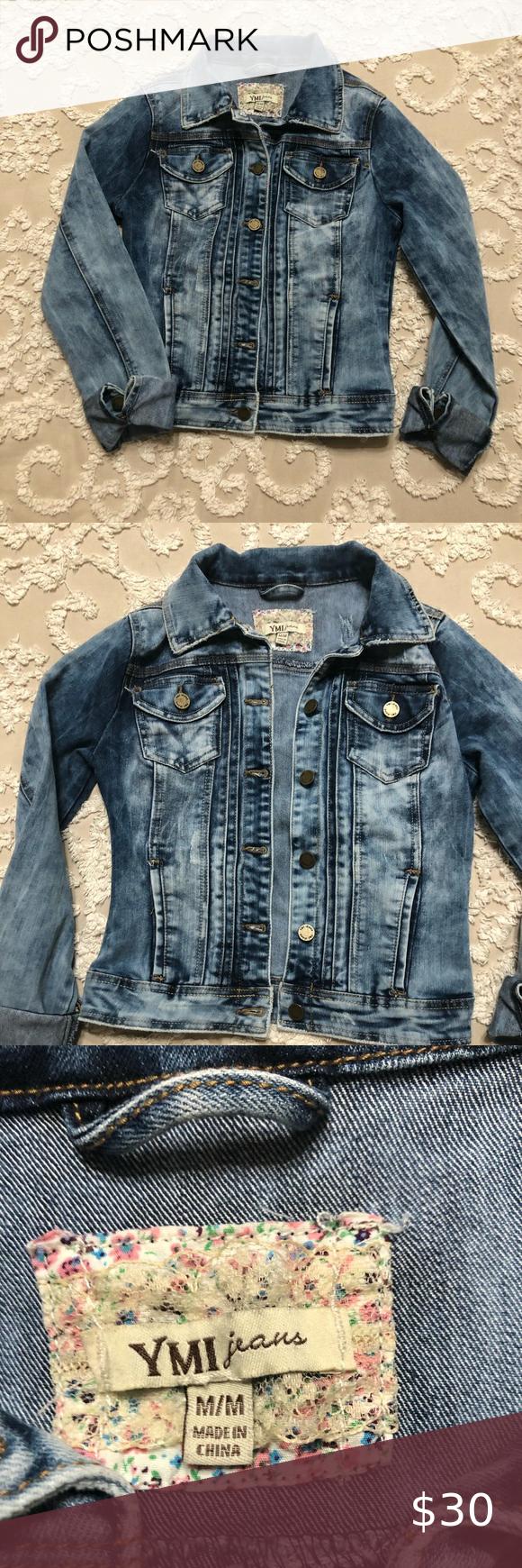 Ymi Junior Jean Jacket So Cute Cute Jean Jackets Juniors Jeans Fitted Denim Jacket [ 1740 x 580 Pixel ]