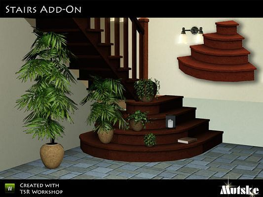 Sims 3 Stairs With Landing Sims 3 Downloads From All Over The