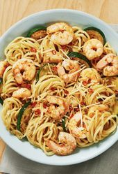 Shrimp Spaghetti with a Kick Shrimp Spaghetti with a Kick