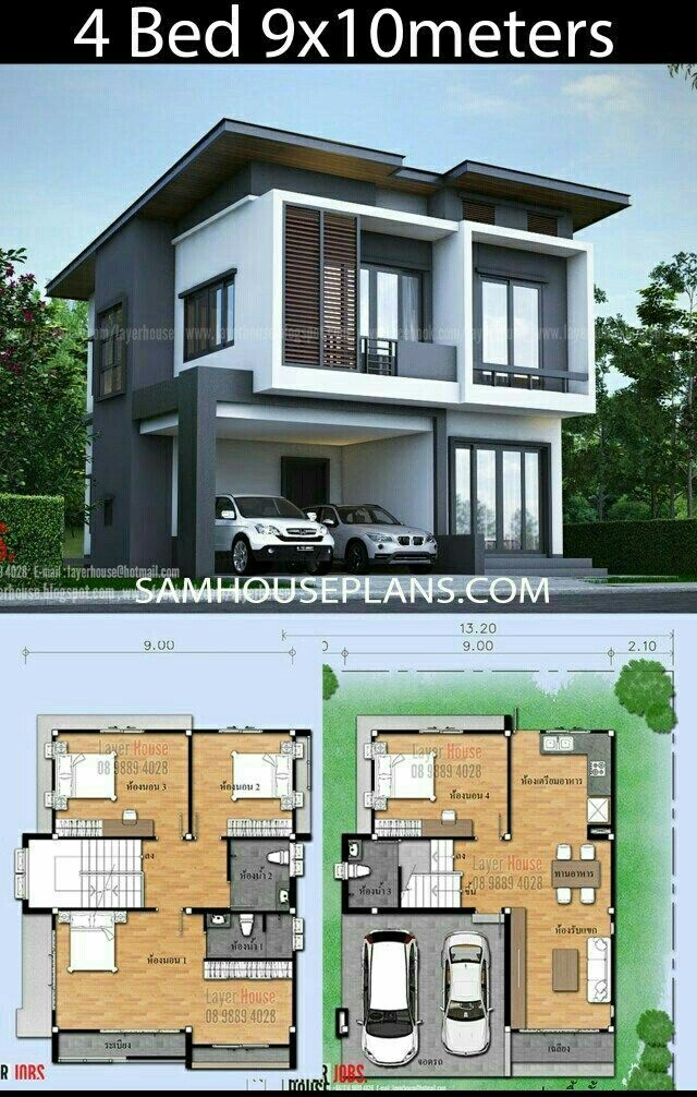 Pin By Mehar Attar On Architectural Design In 2020 Beautiful House Plans Beach House Plans Modern Style House Plans