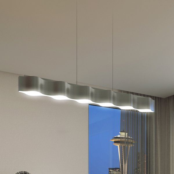 Vonn lighting asellus silver integrated led adjustable modern linear chandelier 38 the home depot