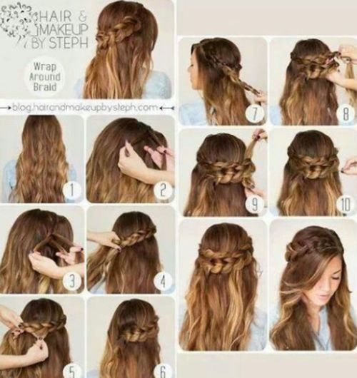 Pin By Sophia Gao On Hair Cool Hairstyles Hair Styles Long