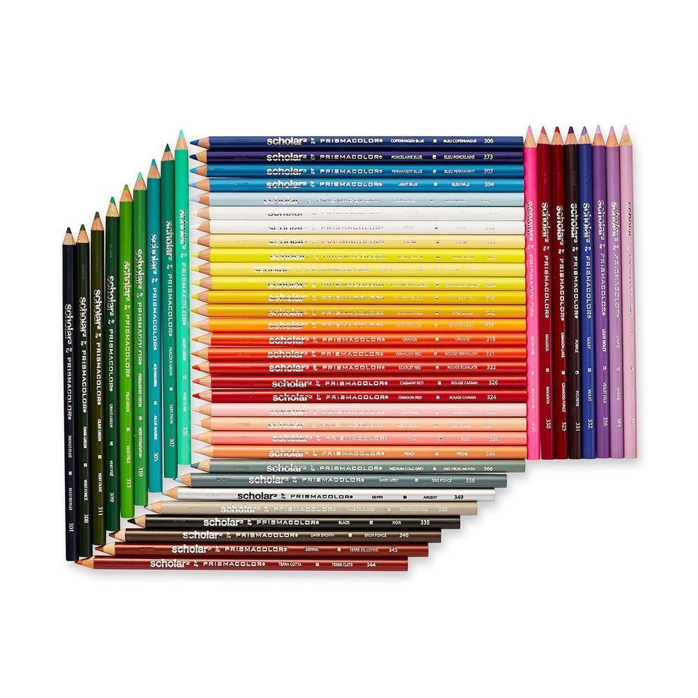 Color art colored pencils - Pencil Scholar Colored Pencils Set Of 48 Assorted Colors Drawing Art