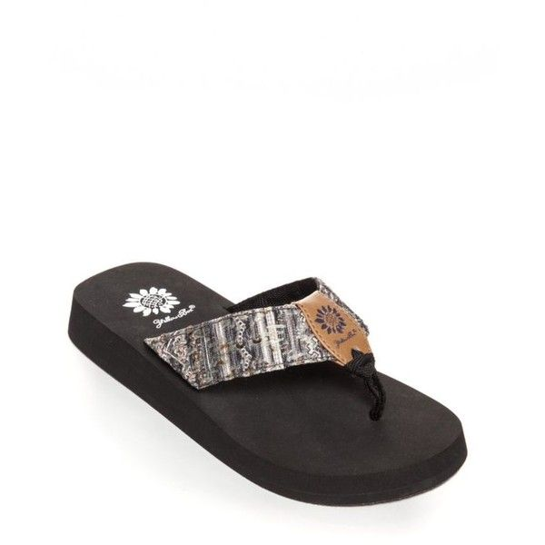 a205e6b11aa8 Yellow Box Andee Platform Flip Flop Flip Flop Sandalsss (€20) ❤ liked on