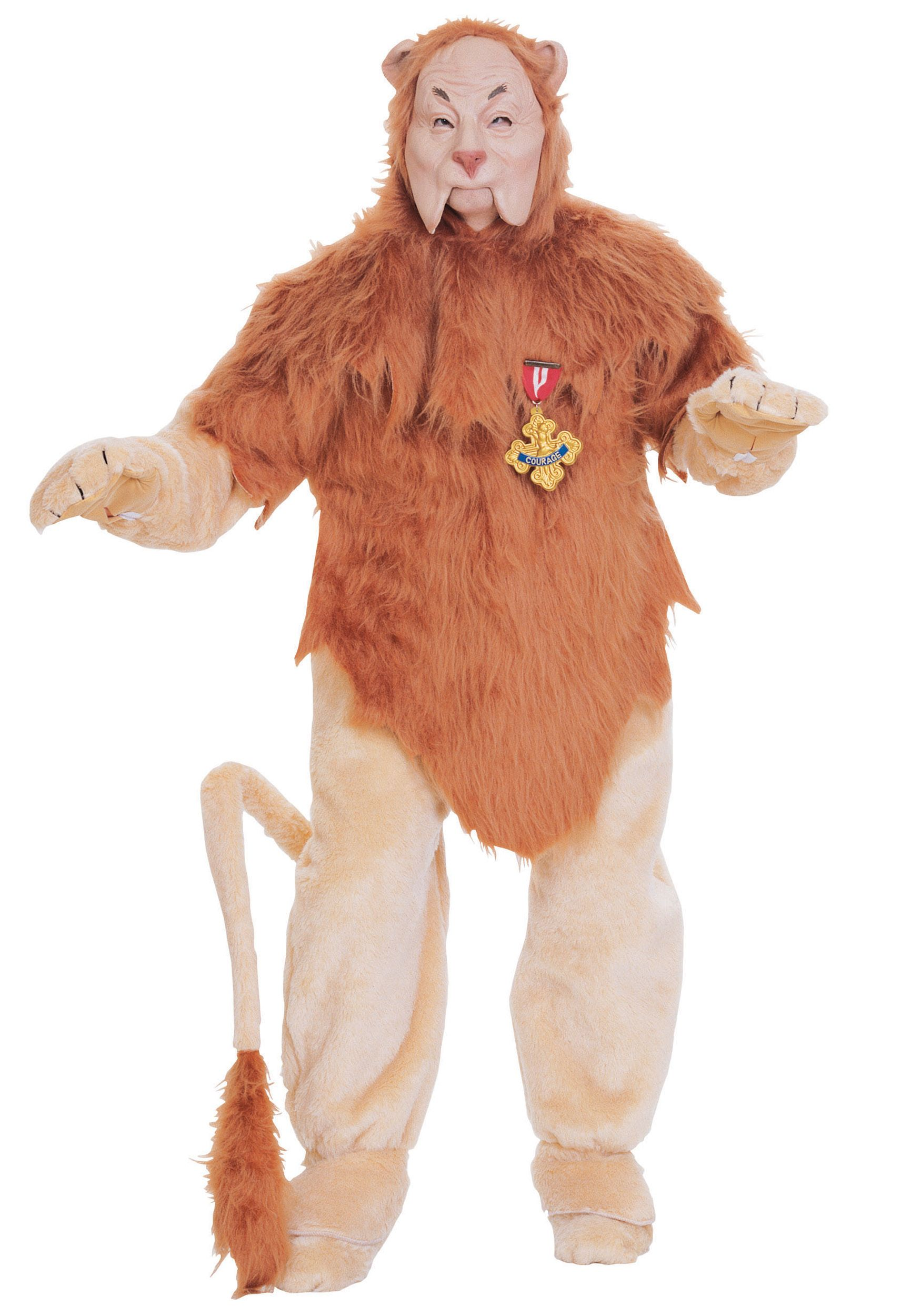 Super Deluxe Cowardly Lion Costume Wizard of Oz Pinterest - Wizard Of Oz Halloween Decorations