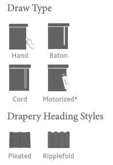 How To Select Drapery Hardware Drapery Hardware Drapery