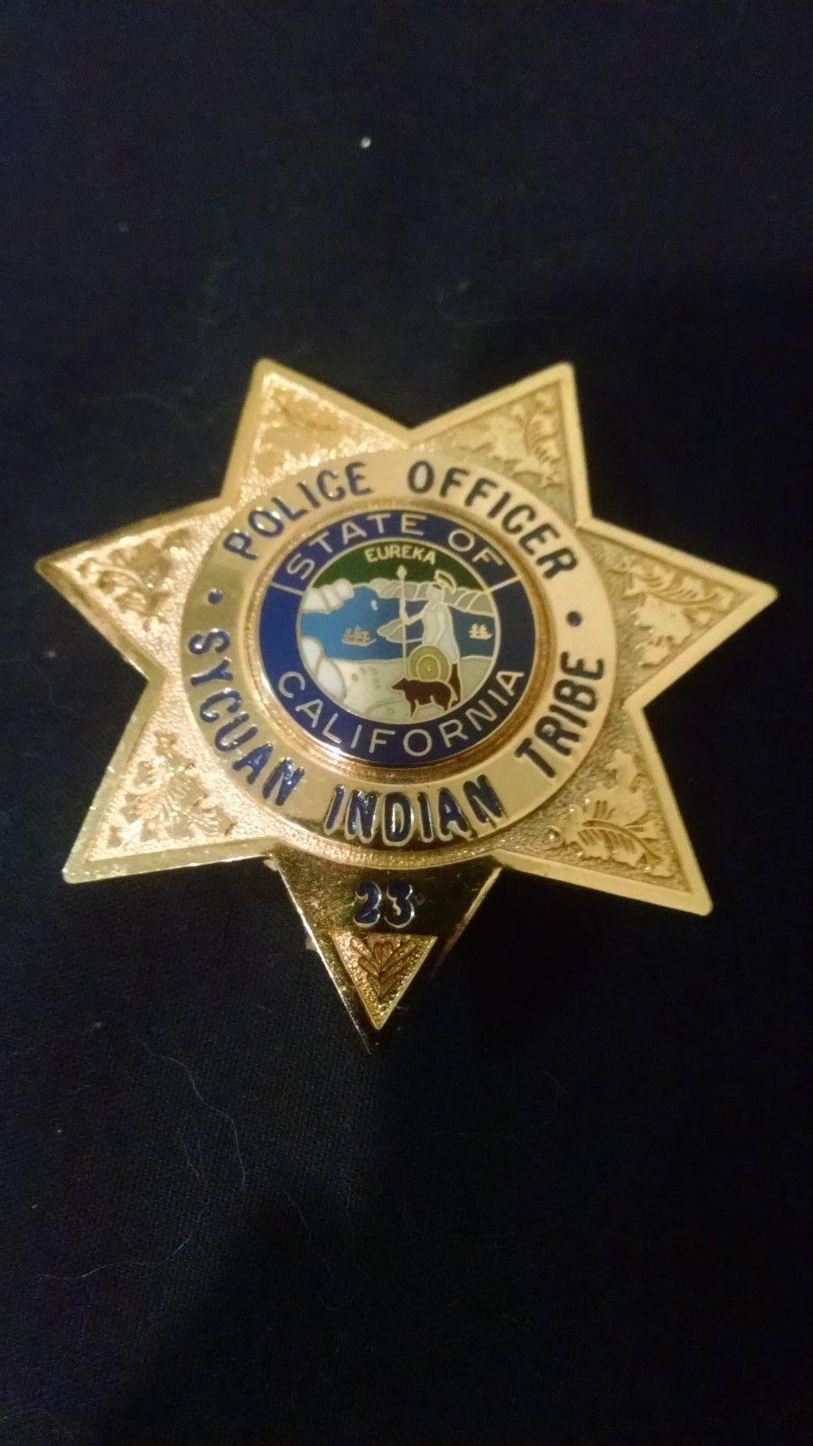 Police Officer, Sycuan Indian Tribe, California (GAREL