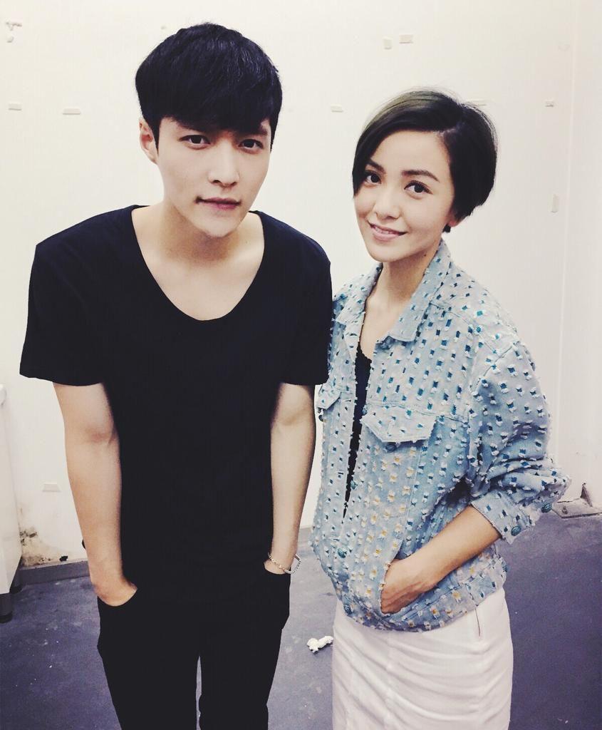 [UPDATE] 150517 GuoCaiJie Weibo Update: LAY