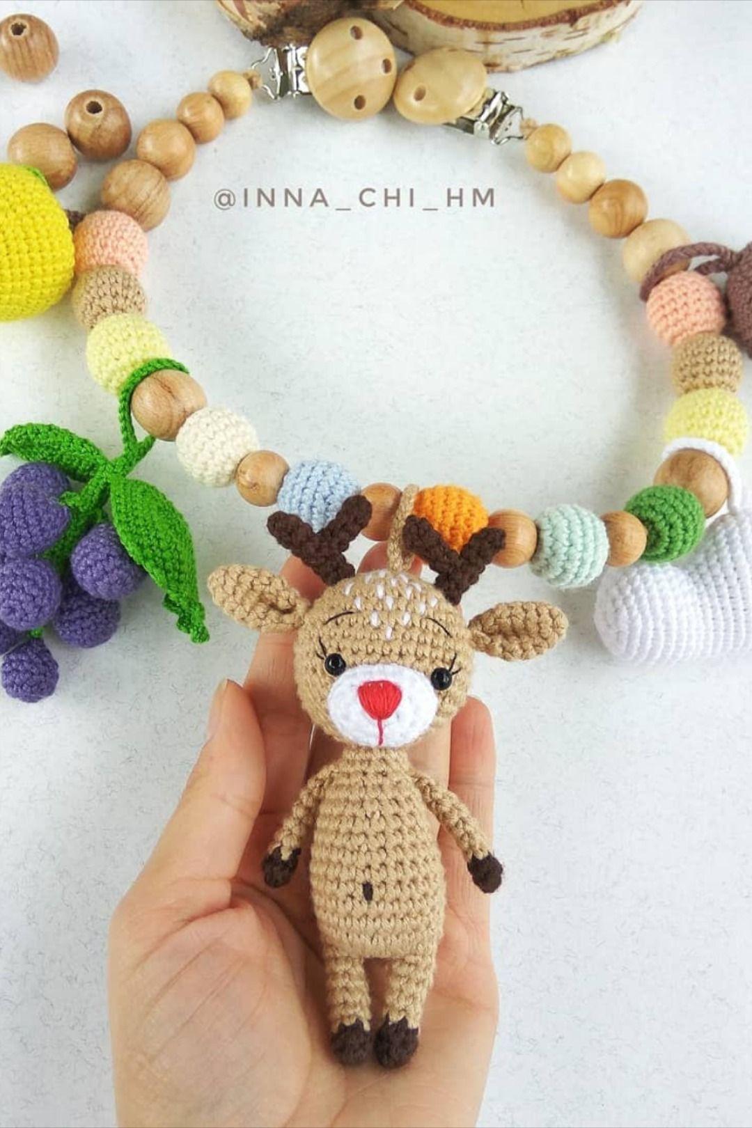 Amigurumi Reindeers Free Crochet Patterns (2020)   Ribbon yarn ...   1620x1080