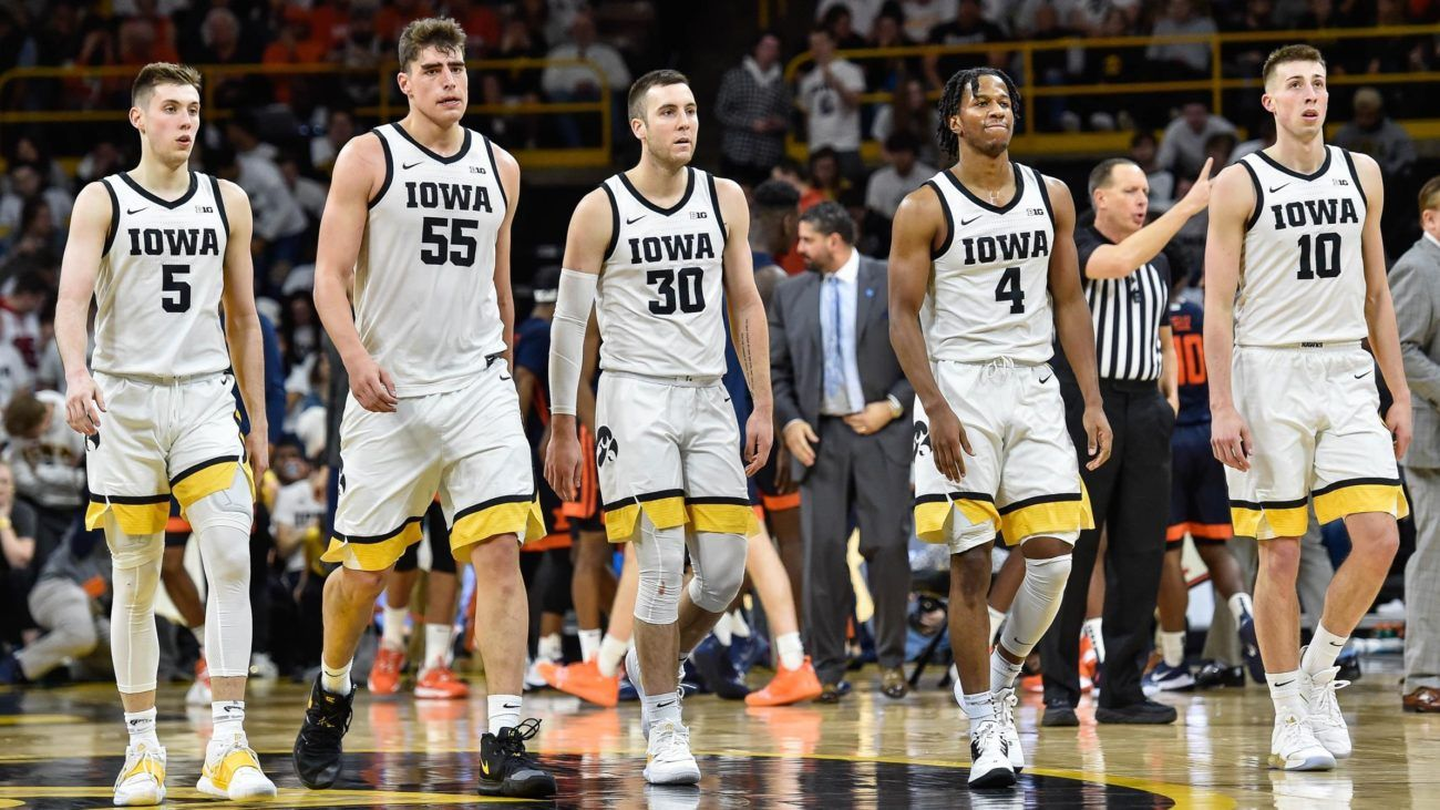 2020 College Basketball Preview Iowa Hawkeyes Vs Indiana
