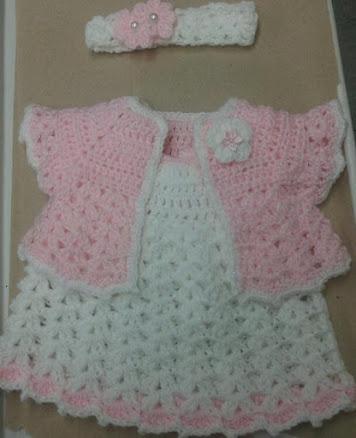 crochet baby dress | crochet niña | Pinterest | Babysachen ...
