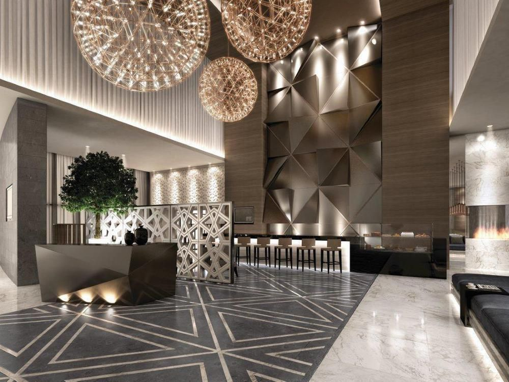 Hotel lobby google search hotelinteriors false for Hotel wall decor