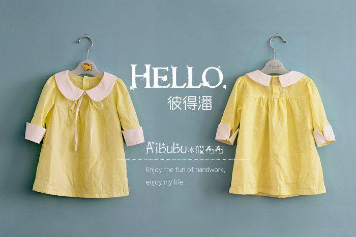 Одежда для детей своими руками. Милое платье