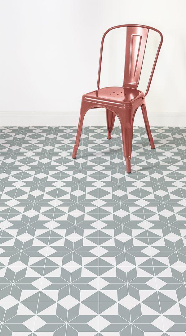 Brittany Tile Effect Vinyl Flooring Victorian Tiles