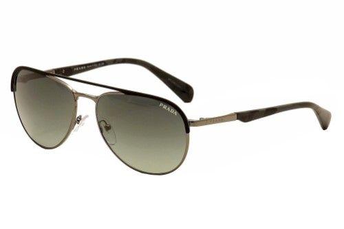 3ab44af819 Prada Minimal Concept SPR51Q SPR 51Q GAQ-2D0 Black Gunmetal (Grey)  Sunglasses 59mm