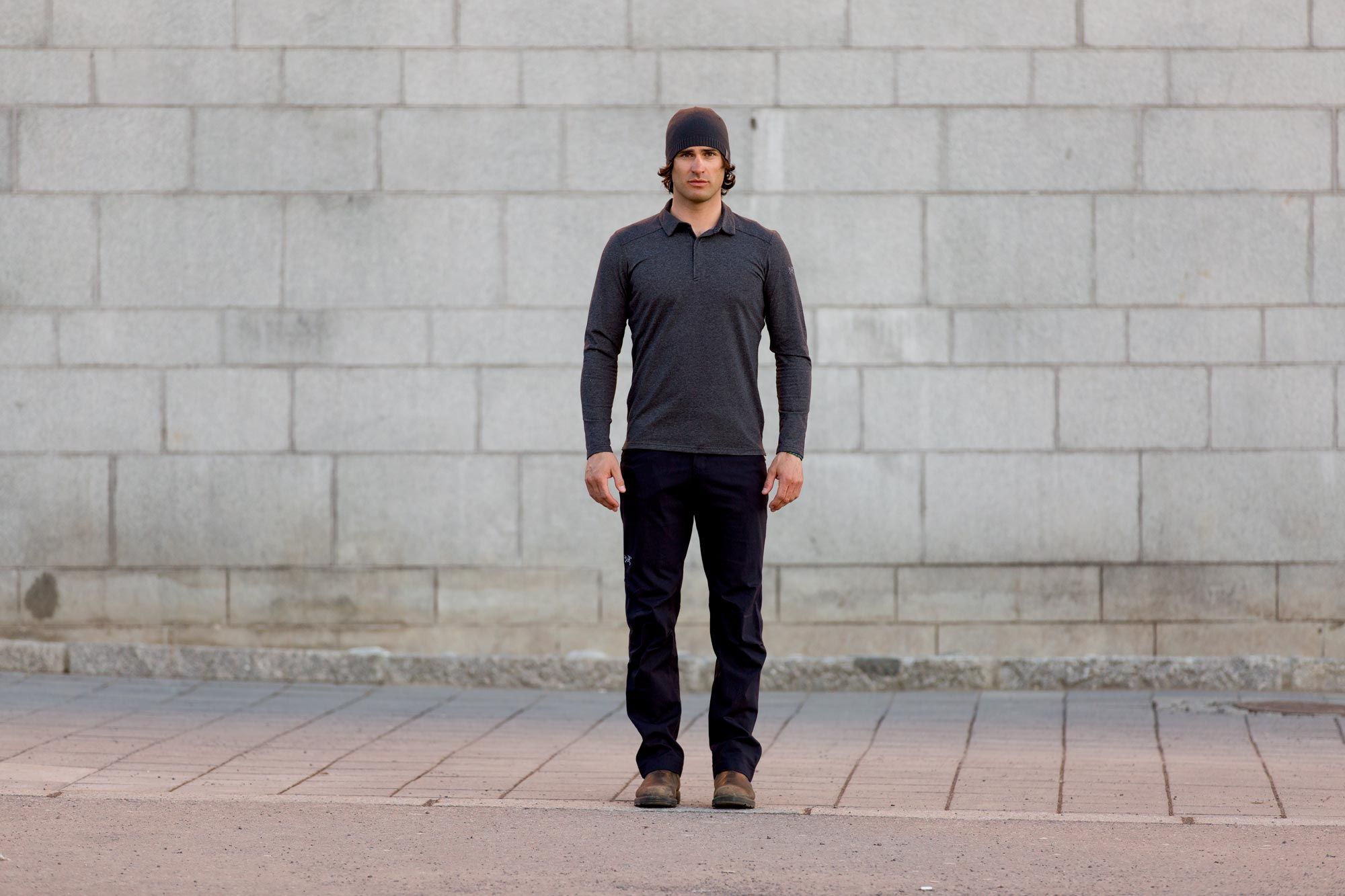 ccaaf113ac Men's Captive Long Sleeve Polo Shirt by Arc'teryx: A long sleeved autumn  weight polo combines moisture wicking performance fabric with a clean  Arc'teryx ...