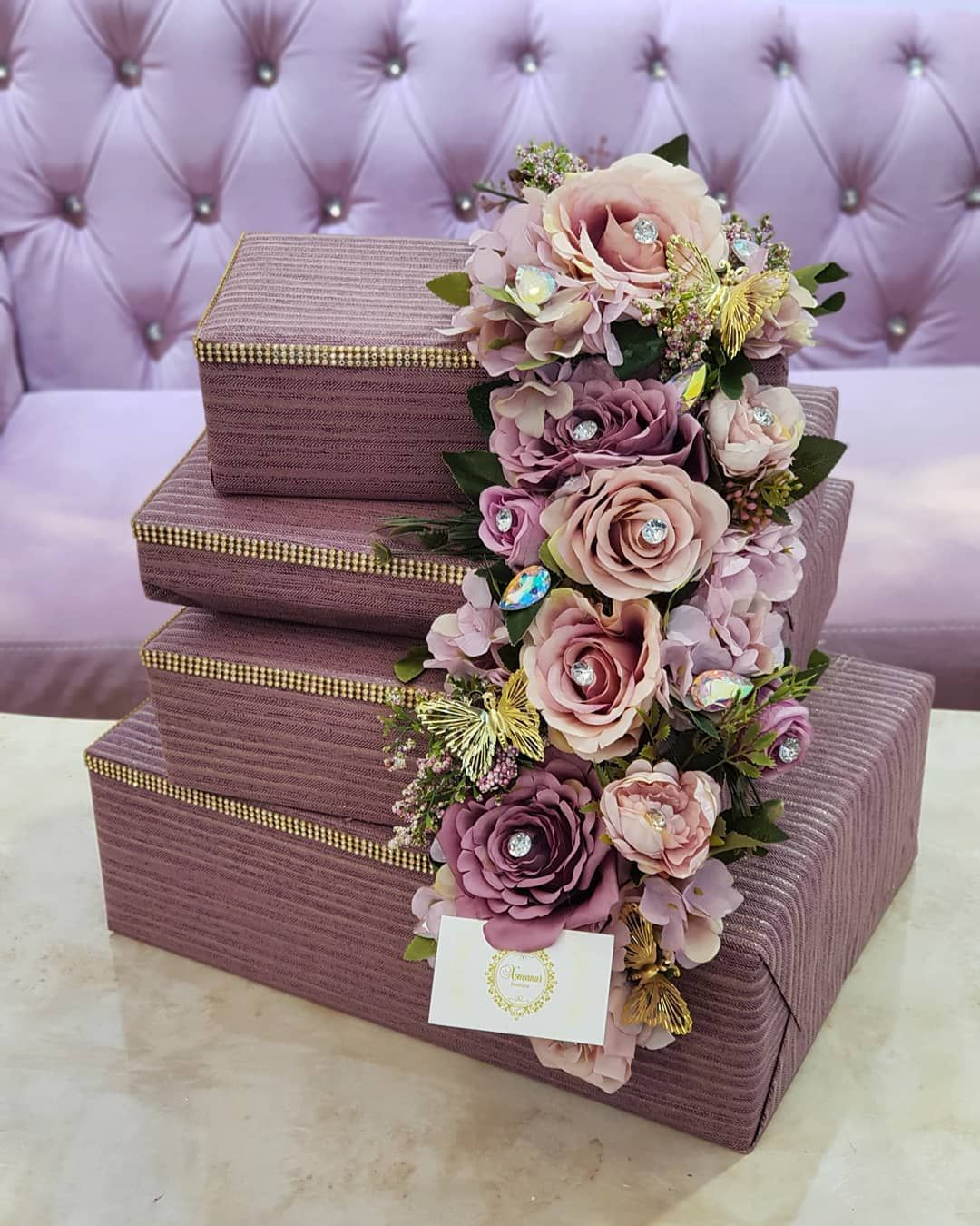 Azerbaycan Aztagram Xoncanur Hediyye Baglama Heri Nishan Xina Toy Luxury Wedding Gifts Wedding Gifts Packaging Desi Wedding Decor