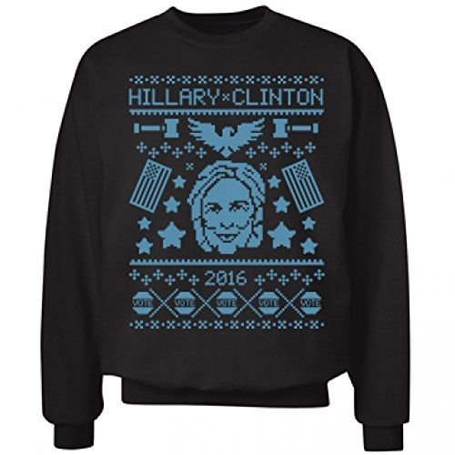 cf4c64785 Hillary Clinton Ugly Christmas Sweaters – Ugly Sweaters By City ...