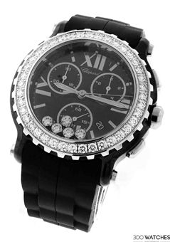 Chopard Happy Sport 28/8515-9006 Ceramic Diamond Watch