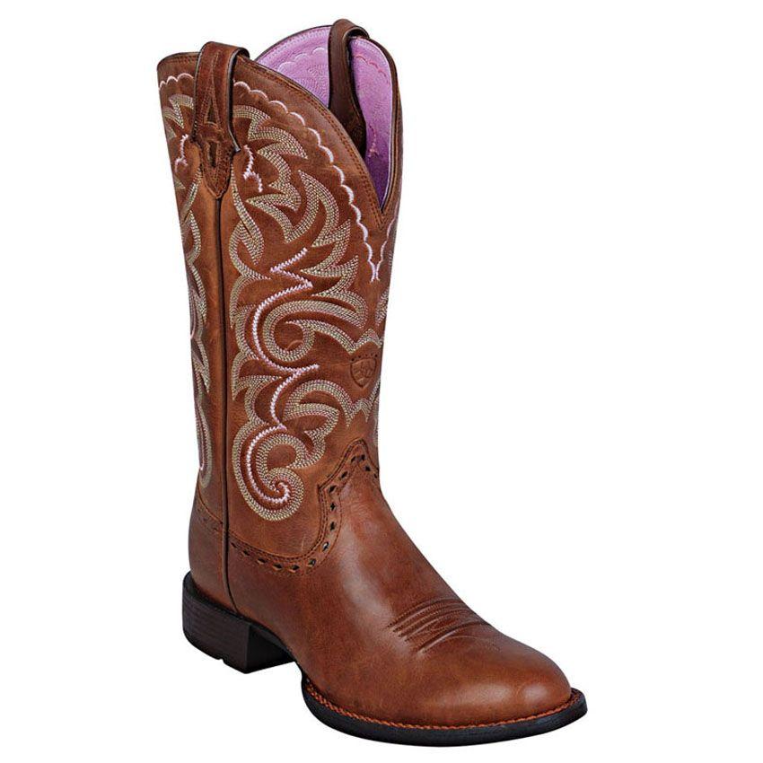 Ariat Heritage Horseman Boots.
