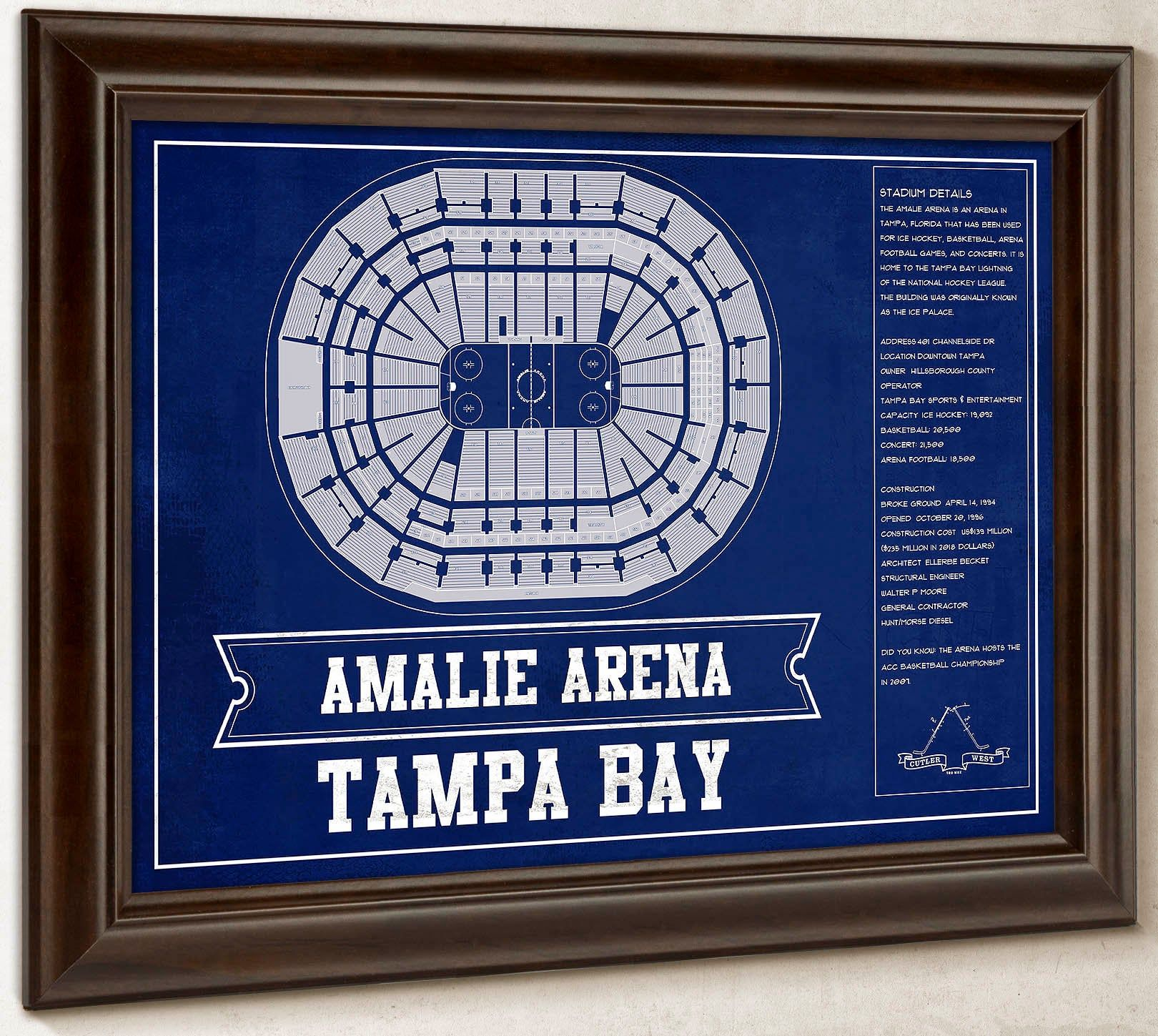 Tampa Bay Lightning Amalie Arena Seating Chart Vintage Etsy In 2020 Tampa Bay Lightning Tampa Tampa Bay Lightning Hockey