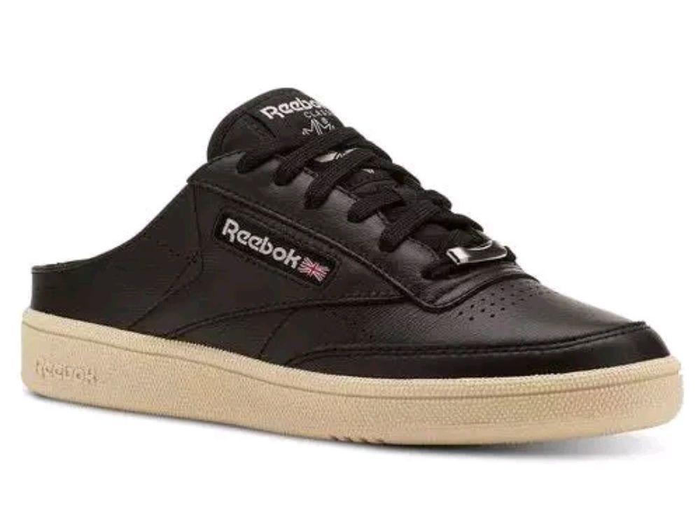 REEBOK SLIP ONS WOMEN S CLUB C 85 MULE SIZE 10 BLACK  Reebok   FashionSneakers 471e598ef