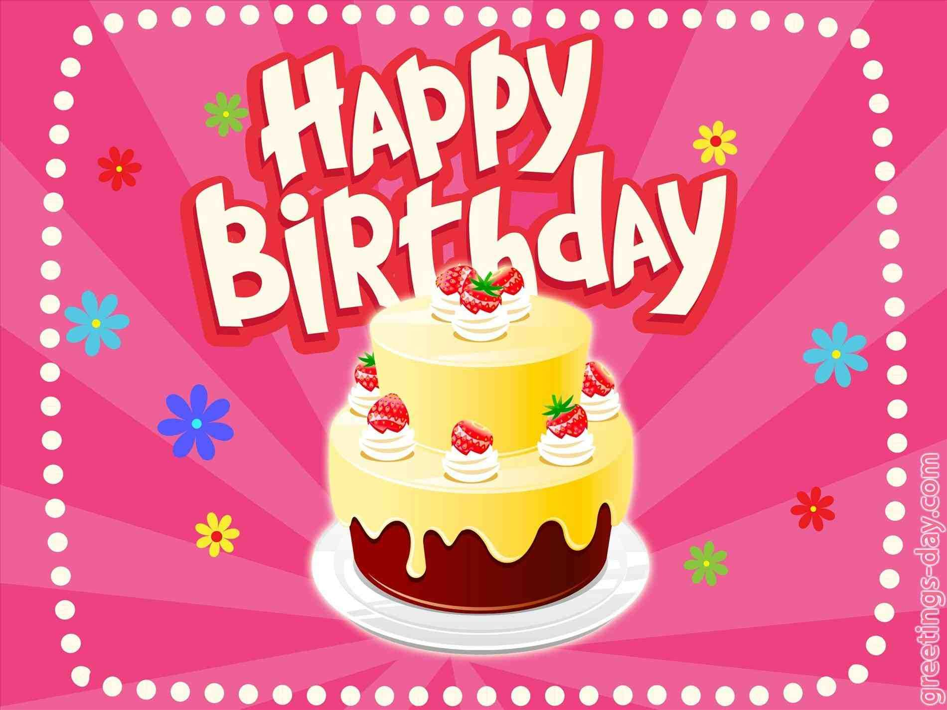Happy Birthday Animated Card With Images Happy Birthday Video
