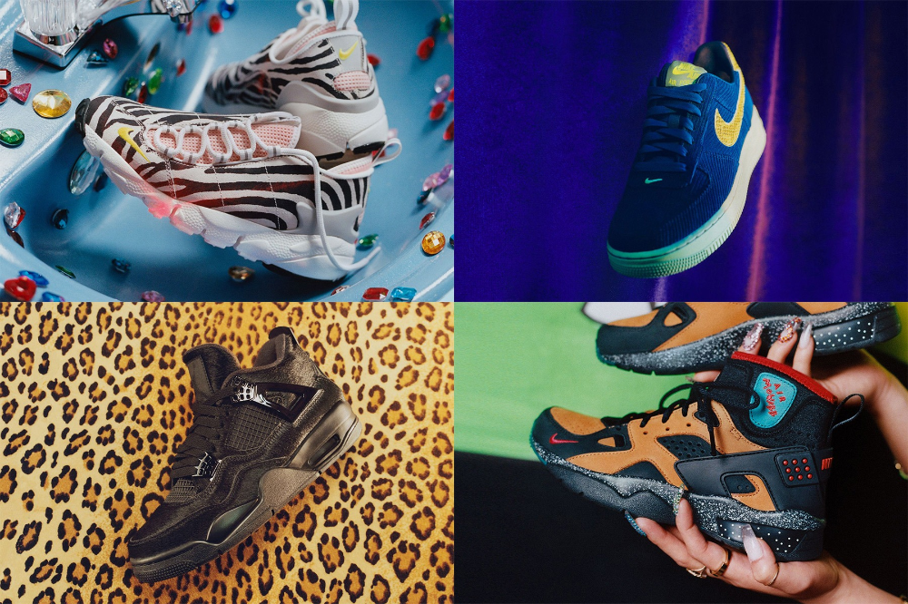 Olivia Kim x Nike 'No Cover' Sneaker Collection (With