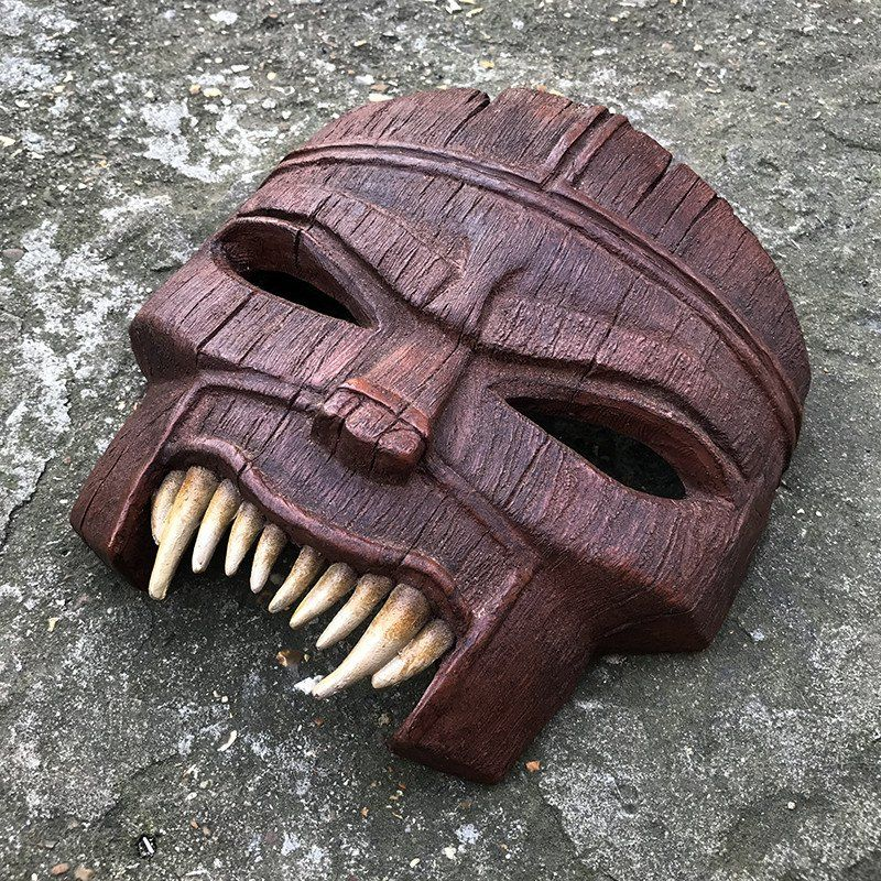 Mask of Ovu Mobani Mask, Halloween accessories, Crafts to do