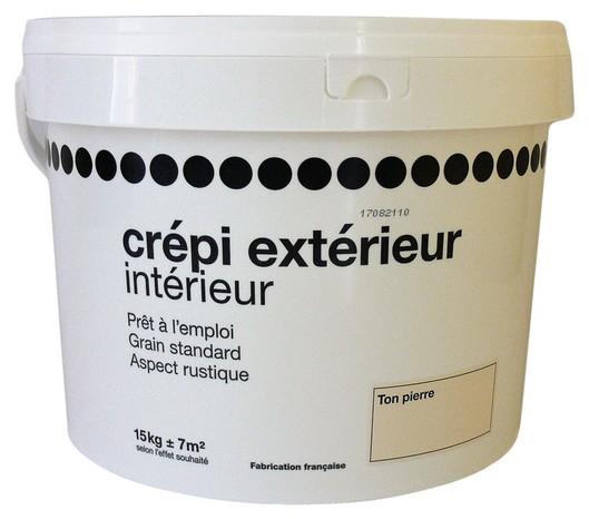 Crepi Exterieur Interieur Ton Pierre 15 Kg Brico Depot In 2020 Renovatie