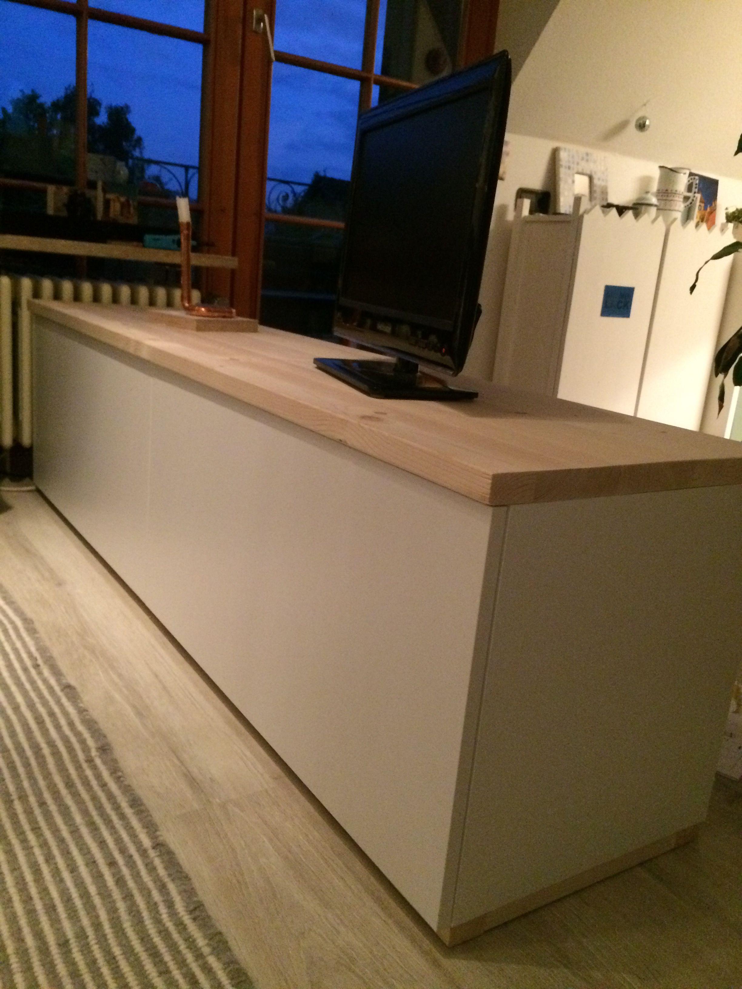 Lowboard aus Ikea Metod   Lowboard, Ikea, Tv lowboard