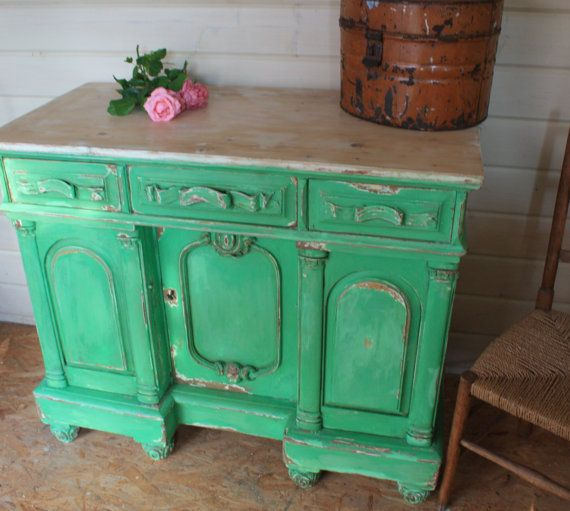 Solid Wood Chippy Chiffoniere / Sideboard / by Restored2bloved, £350.00