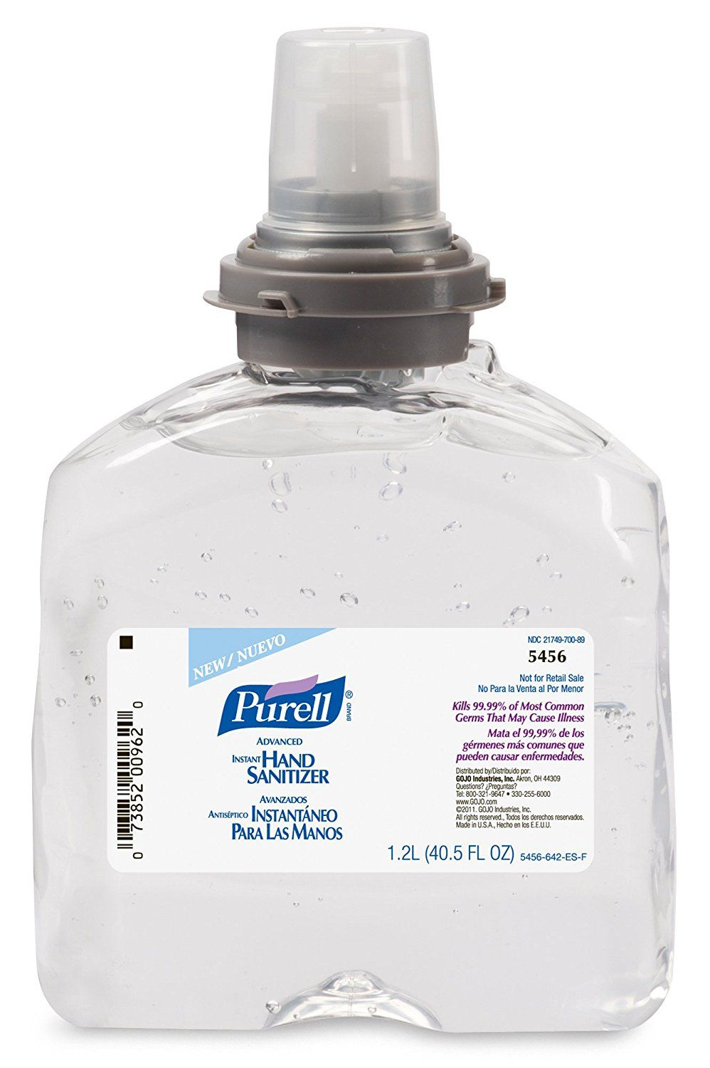 Purell Professional Advanced Unscented Foam Hand Sanitizer Refill